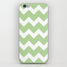 Chevron - Mint iPhone & iPod Skin