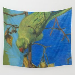 parrot 3 Wall Tapestry