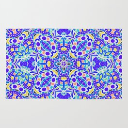 Arabesque kaleidoscopic Mosaic G513 Rug