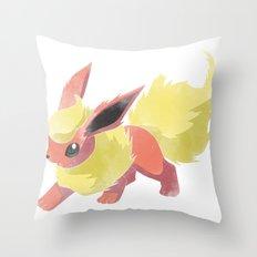 PKMN : FLAREON Throw Pillow