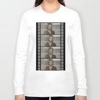 silent hill Long Sleeve T-shirts featuring Maria Silent Hill by Alberto P