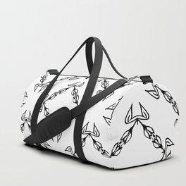 Scorpion Sting BW Duffle Bag