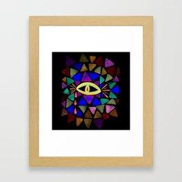 Crystaleyes 4 Framed Art Print