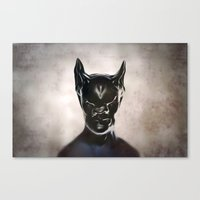 bat Canvas Prints featuring Bat by Giray Ötken