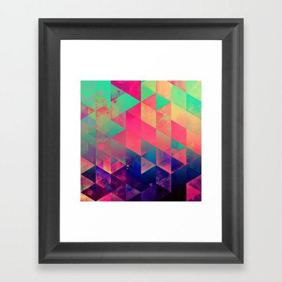 plyyt Framed Art Print