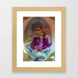 Poetry Rose Framed Art Print