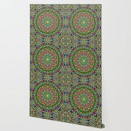 Happy Jungle Mandala Wallpaper
