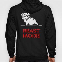 Beast Mode English Bulldog Hoody