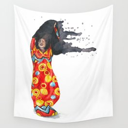 Stripping Darkness Wall Tapestry