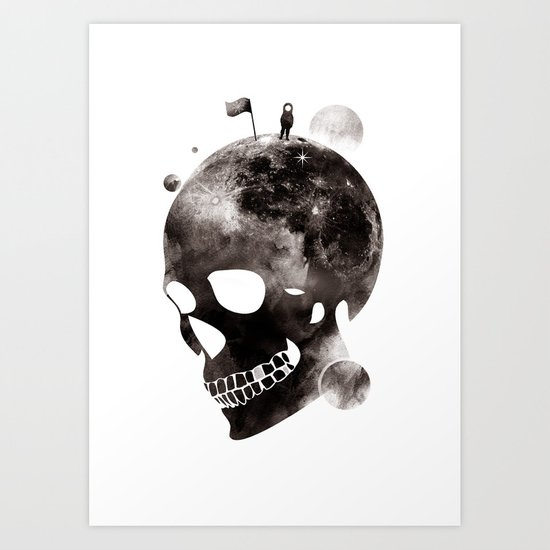 the darkest side Art Print