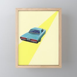 Open Road Framed Mini Art Print
