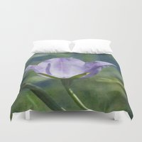 tinker bell Duvet Covers featuring Bell flower by LoRo  Art & Pictures