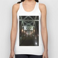 nashville Tank Tops featuring Nashville Nights by Anthony J. Newton Designs