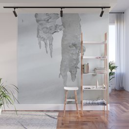 Watercolor Ice 07, Ice Forks Wall Mural