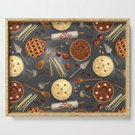 Pie Day Serving Tray