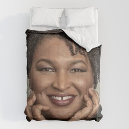 Stacey Abrams Comforters