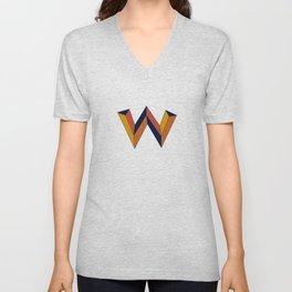 The W Letter Unisex V-Neck