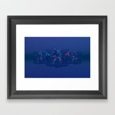 Refract Framed Art Print