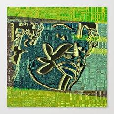 Avatars 2 - Skin Circuits 07-08-16 Canvas Print