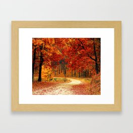 Adventures Await #society6 #prints #decor Framed Art Print