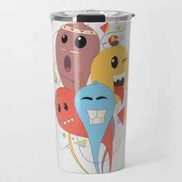 El trio Travel Mug