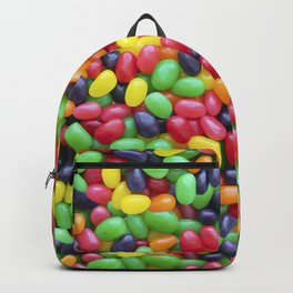 Jelly Bean Candy Photo Pattern Backpack