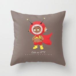 Cute as F**K Throw Pillow