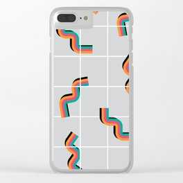 Curly fries inspired Clear iPhone Case