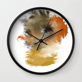 Through the Eyes of the Storm Wall Clock