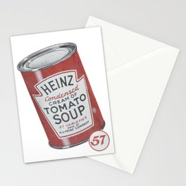 Heinz tomato soup can Stationery Cards