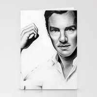 benedict Stationery Cards featuring Benedict Cumberbatch by Denda Reloaded