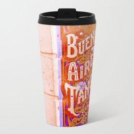 Tango Buenos Aires, Argentina. Metal Travel Mug