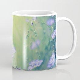 Flax Flowers Coffee Mug