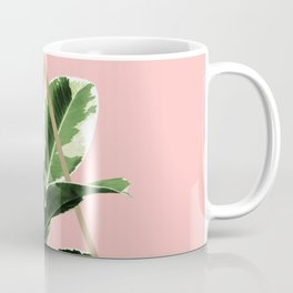 Ficus Elastica Geo Finesse #1 #tropical #foliage #decor #art #society6 Coffee Mug