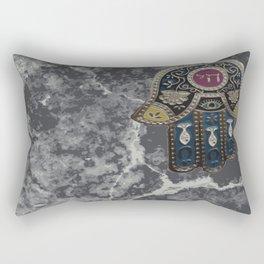 Jewish Hamsa Rectangular Pillow