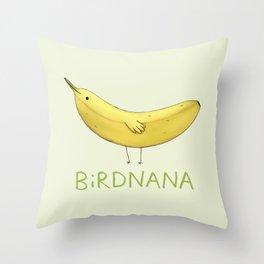 Birdnana Throw Pillow