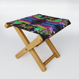 二 (Èr) Folding Stool
