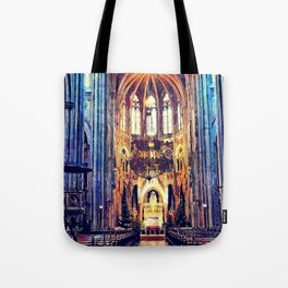 Vienna church watercolor Tote Bag
