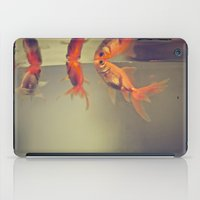 breathe iPad Cases featuring Breathe. by Joëlle
