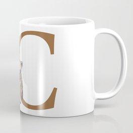 C for Coati Coffee Mug
