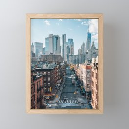 LES & FiDi 02 Framed Mini Art Print