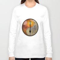 yin yang Long Sleeve T-shirts featuring yin yang by Vector Art