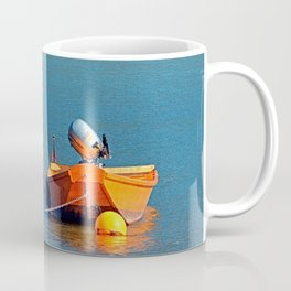 Boat on the river | landscape photography Coffee Mug