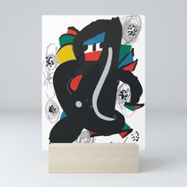 Joan Miro, La Melodie Acide, 1980 Artwork Reproduction, Women, Men, Youth, Prints, Posters, Bags, Ts Mini Art Print