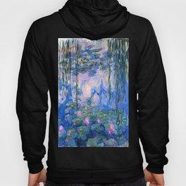 Water Lilies Monet Hoody