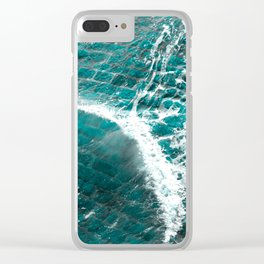 Whoosh Clear iPhone Case