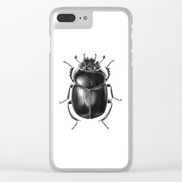 Beetle 13 Clear iPhone Case