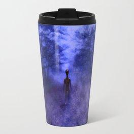 Eerie Alien Travel Mug