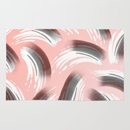 Pink Party Pattern Rug