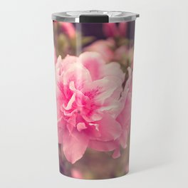 Pink Azalea Bliss Travel Mug